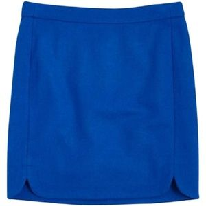 J.CREW Above Knee Wool Blend Mini Skirt